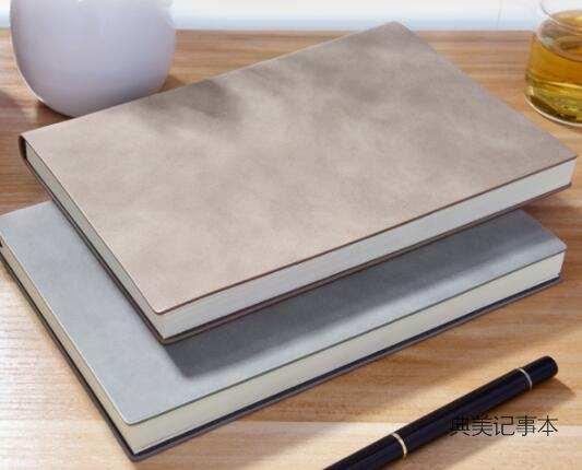 洞察定制细节过程,制作礼品记事本的价值体现在哪里?_封面材质选择